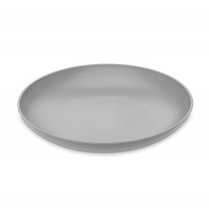 Тарелка глубокая RONDO серая