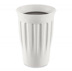 Термокружка CLICK, 350 мл, бело-чёрная