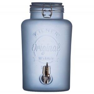 Диспенсер для напитков 5 литров голубой