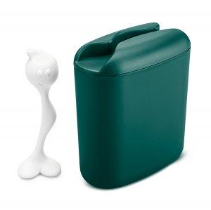 Контейнер для хранения продуктов с ложкой HOT STUFF L, зелёный