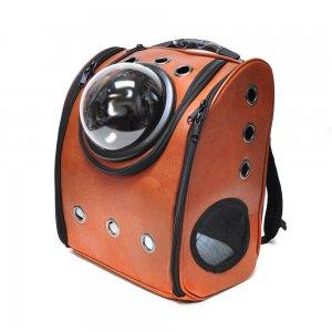 Рюкзак с иллюминатором, коричневый (вид 2)