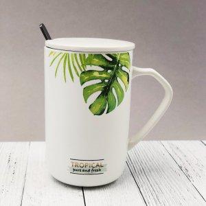 """Кружка """"Green leaves"""" (420ml)"""