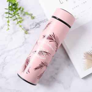 """Термос """" Always believe"""", pink 400 ml"""