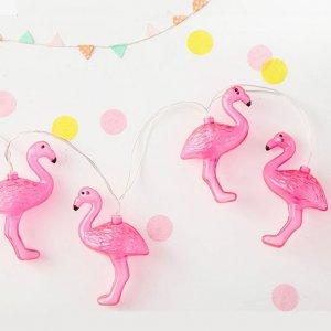"""Гирлянда """"Фламинго"""" 20 огней (USB), 3 м"""