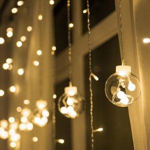 "Гирлянда-штора ""Лампочки"" (2.5 м)"