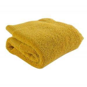 Полотенце для лица горчичного цвета