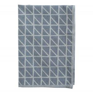 Кухонное полотенце с принтом Twist темно-синего цвета