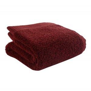 Полотенце для лица бордового цвета