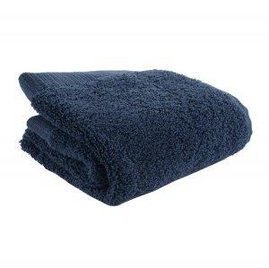 Полотенце для лица темно-синего цвета