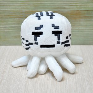 Плюшевая игрушка Гаст Minecraft 13 см (черные глаза)