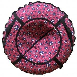 Тюбинг Prosport Мячи на розовом (с камерой)