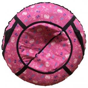 Тюбинг Prosport Розовые бантики (с камерой)