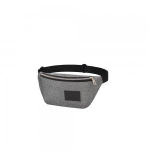 Поясная сумка Блестки серебро С-5212