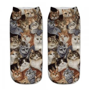 """Носки """" Thoughtful cats"""""""