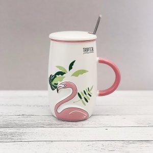 "Кружка ""Flamingo tropical"" (500ml)"