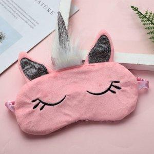 """Маска для сна """"Единорожка"""", pink"""