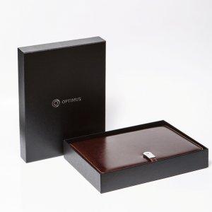 Ежедневник со встроенной USB зарядкой и флешкой 8 ГБ Оптимус