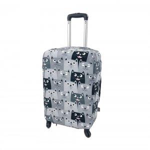 Чехол для чемодана Fancy Armor - Все любят котиков ECO