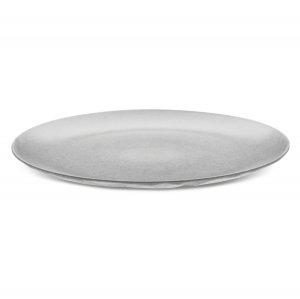 Тарелка обеденная CLUB Organic, D 26 см, серая