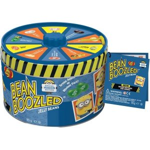 Bean Boozled Миньоны Jelly Belly в жестяной банке с диском 95 г