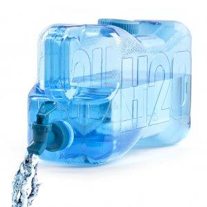 Бутылка для воды H2O 5.5л