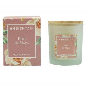 Свеча ароматическая «Майская роза» Floral 30 ч