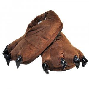 Тапочки для кигуруми коричневые