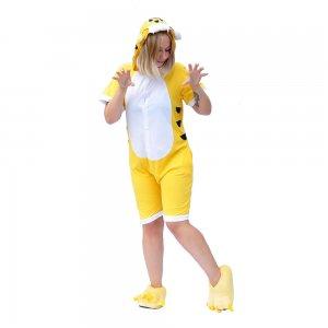 """Летний кигуруми """"Тигр"""" желтый"""