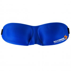 Маска для сна 3D синяя