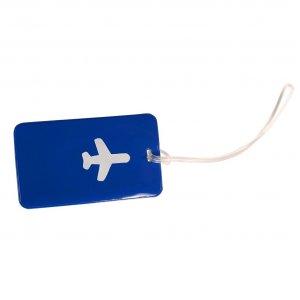 Бирка Хэппи Вэйс PVC для багажа синяя