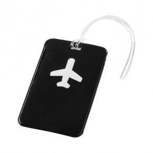 Бирка Хэппи Вэйс PVC для багажа черная