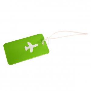 Бирка Хэппи Вэйс PVC для багажа зеленая