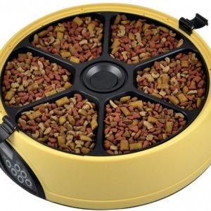 Автокормушка SITITEK Pets Maxi для кошек и собак (6 кормлений) с таймером