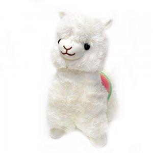"""Мягкая игрушка """"Альпака Fluffy"""" 35 см белая"""