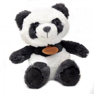 Мягкая игрушка Панда сидящая Fluffy 25 см