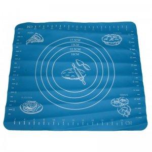 Силиконовый коврик для Полиморфуса с разлиновкой 28x25,5 см малый голубой