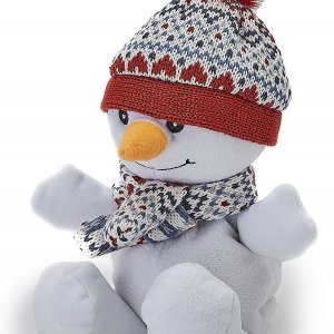 Игрушка-грелка Junior Снеговичок