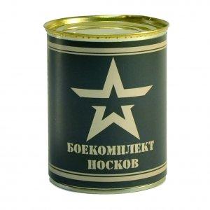 """Носки консервированные """"Боекомплект носков"""" без ключа"""