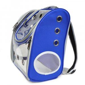 Рюкзак прозрачный, синий