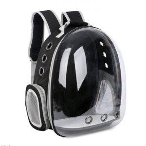 Рюкзак-капсула прозрачный, черный