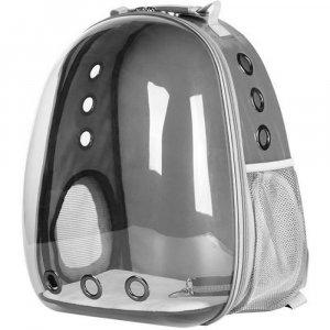 Рюкзак-капсула прозрачный, серый