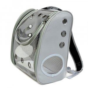 Рюкзак прозрачный, серый