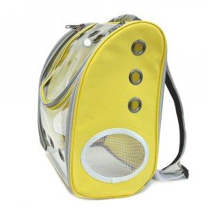 Рюкзак прозрачный, желтый