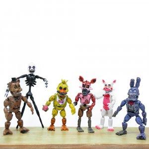 Набор подвижных фигурок Five Nights at Freddy's,  6 шт