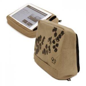 Подушка-подставка с карманом для планшета