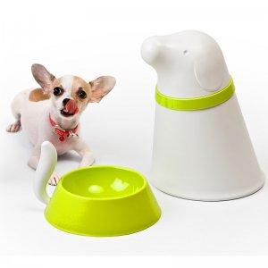 Контейнер+миска для собаки Pupp