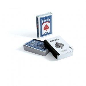 Карманный блокнот Playing cards синий