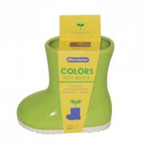 Кашпо для выращивания базилика Baby Boots зеленое