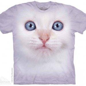 Футболка White Kitten Face