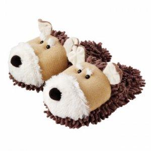 Тапочки Fuzzy Friends Собаки
